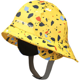DIDRIKSONS Southwest Printed Casquette Enfant, pollen yellow terazzo